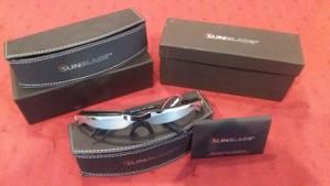 TV sunglasses / TV-zonnebrillen